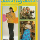 STITCH BY STITCH Part 60 SEWING CROCHET KNITTING CRAFTS VINTAGE MAGAZINE