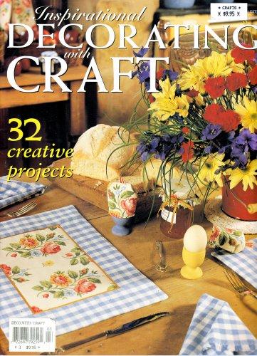INSPIRATIONAL DECORATING CRAFT AUST. 32 PROJECTS QUILT APPLIQUE PAINT CROCHET
