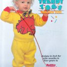 PATONS TRENDY TOGS FOR TINY TOTS KNIT 9MO. TO 4 YEARS DINO FROG LADYBUGS 522