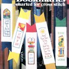 RELIGIOUS INSPIRATIONAL BOOKMARKS CHARTED CROSS STITCH LEISURE ARTS #207