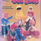 DOLL SHOP 11 CROCHETED DOLLS #17 SCHOOL OF AMERICAN NEEDLEWORK 1981 OOP
