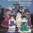 "VICTORIAN CROCHET 15"" DOLL CLOTHES COSTUMES PATTERN 1099 AMERICAN NEEDLEWORK"
