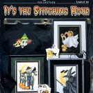 STONEY CREEK 82 THE STITCHING HOUR HALLOWEEN X STITCH WITCH GHOST SCARECROW CATS