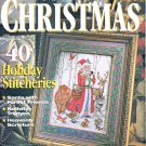 CROSS STITCH CHRISTMAS 1996 ORNAMENTS NATIVITY SANTA + 40 CHARTS TO STITCH BH&G