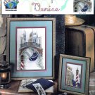SCENES FROM VENICE CROSS STITCH CHARTS ITALY GONDOLA CANAL TRUE COLORS BCL10158