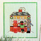 CHRISTMAS KIDS * ORNAMENTS CROSS STITCH CHARTS LEISURE ARTS 175