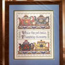 'COLLECTABLE TEAPOTS' OOP BUCILLA #40887 COUNTED CROSS STITCH KIT FRIENDSHIP