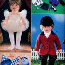 "18"" DOLL RIDING HABIT, SOCCER, SWIMMER, BALLERINA VOGUE 9528 PATTERN  OOP UNCUT"