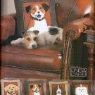 3-D DOG PILLOWS! LAB, SPANIEL + VOGUE 7441 OOP PATTERN MINT UNCUT