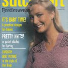 STITCHCRAFT MAY 1980 BABY NEEDLEWORK CROCHET KNIT EMBROIDER KIMONO GIRL DRESS