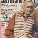 STITCHCRAFT JUNE '79 APPLIQUE JUNGLE JACOBEAN NEEDLEWORK CROCHET KNIT EMBROIDER