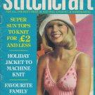 STITCHCRAFT JULY 1975 SUN TOPS NEEDLEWORK CROCHET KNIT EMBROIDER VINTAGE MAGAZINE