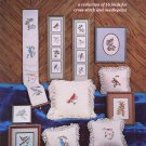 FEATHERED FRIENDS COUNTED CROSS STITCH OR NEEDLEPOINT 16 BIRDS LARGE CHARTS