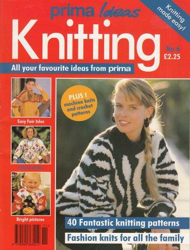 Prima Ideas Knitting 40 Family Patterns 6 Christmas Fair Isle