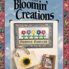 NO-SEW APPLIQUE BLOOMIN' CREATIONS BY JEAN WELLS WALLHANGINGS FLOWERS CHRISTMAS