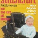 STITCHCRAFT # 567 NEEDLEWORK CROCHET KNIT EMBROIDER MARCH 1981 VINTAGE MAGAZINE