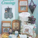 RIBBON EMBROIDERY, CROSS STITCH *RIBBON CROSSINGS JUST CROSS STITCH #2215