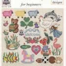 CROSS STITCH MOTIFS FOR BEGINNERS 22 DESIGNS OVER EASY! # 45 KIDS, BABY & MORE