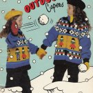 BOUQUET KIDS KNIT PATTERNS 'OUTDOOR CAPERS' #1216 JACKETS COATS BULKY WEIGHT