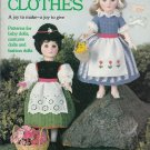 DOLL CLOTHES COATS & CLARK BABY DOLLS COSTUME & FASHION DOLLS 1983 KNIT CROCHET