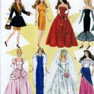 BARBIE DOLL SOLO IN SPOTLIGHT SHEATH-WEDDING-GYPSY PATTERN McCALL 8552 UNCUT