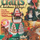 CHRISTMAS QUICK EASY CRAFTS WOODWORK PAINT PLASTC CANVAS PENGUIN WREATH HANUKKAH