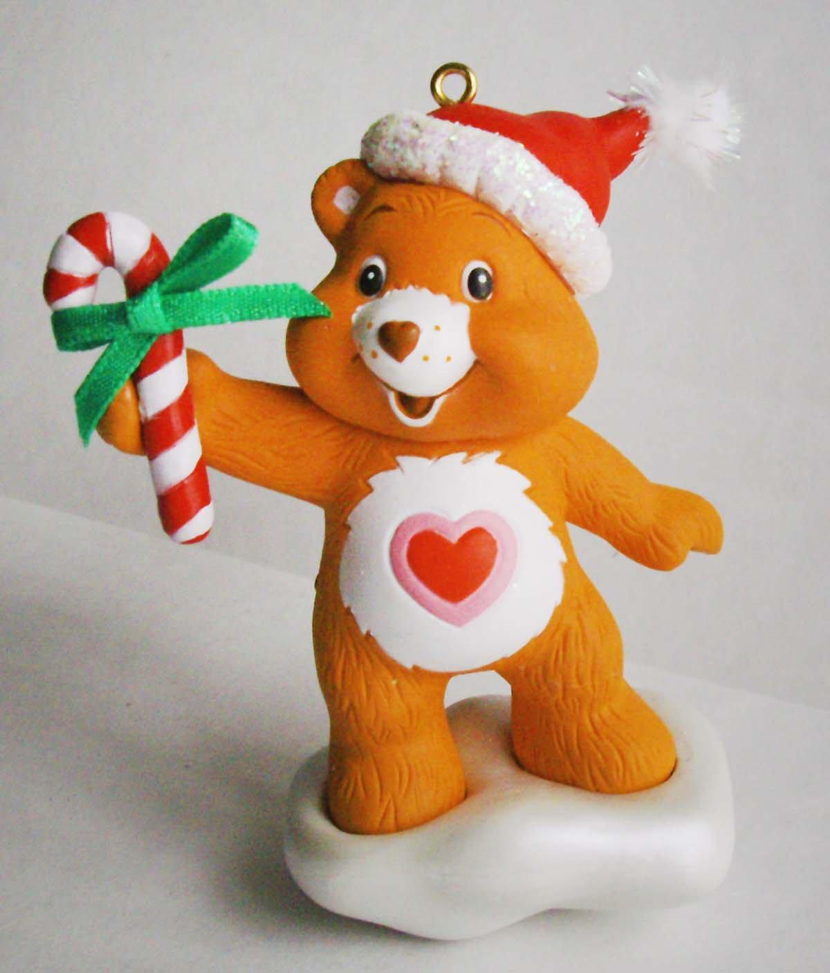 Santa Care Bears Christmas Tree Ornament Mint In Box American