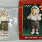 *SANTAS LITTLE RASCALS - SPANKY CHRISTMAS TREE ORNAMENT MINT IN BOX CARLTON CARD