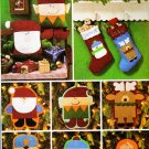 CHRISTMAS ORNAMENTS, STOCKINGS PILLOWS BUTTERICK 3330 PATTERN MINT UNCUT