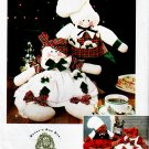4 DRESSED GINGERBREAD GIRL & BOY DOLLS SIMPLICITY 9880 CRAFT SEWING PATTERN