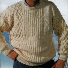KNIT MENS SWEATERS PATONS 637 HIS FAVOURITE KNITS - CLASSICS FOR EVERY MAN