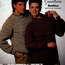 KNIT WOMEN MEN SWEATERS SHAKERS VARIATION CHUNKY FAST BEEHIVE PATONS 473