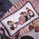 AMERICA! VILLAGE MAIN ST. CIRCUS MIX TEACHER LOVE OF CROSS STITCH MAG. SEPT '90