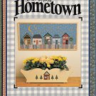 NO-SEW APPLIQUE 'HOMETOWN' AIMISH HOUSE CABIN PICTURES COTTAGE ALBUM JEAN WELLS