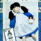 SOPHIE DOLL MCCALL 4186 PATTERN + CLOTHES DRESS-APRON-PANTS-HER DOLLY UNCUT