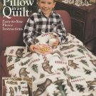 PILLOW IN QUILT EASY SEW FLEECE SIMPLICITY 0394 GREAT GIFT IDEA! KIDS OR ADULTS