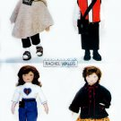 "23"" DOLL CLOTHES HTF PATTERN COAT DRESS SOCKS BOOTS + UNCUT BUTTERICK 6799"