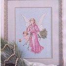 LOVE OF CROSS STITCH CHRISTMAS ORNAMENTS AFGHAN ANGEL CLOCK RUG MAGAZINE JU '89