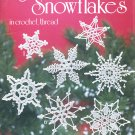 MORE SNOWFLAKES IN CROCHET THREAD #1038 AMERICAN SCHOOL NEEDLEWORK MARY THOMAS