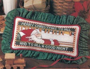 CHRISTMAS CROSS STITCH CRAFTS CELEBRATIONS SANTA STOCKINGS BEARS PILGRIMS ANGELS