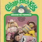 CROCHET CABBAGE PATCH DOLL FUNWEAR COWPOKE SWIMSUIT+ PLAID 7858