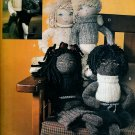 TEENAGE SOCK DOLLS!  BOYS & GIRLS AA VOGUE 7535 PATTERN MINT UNCUT