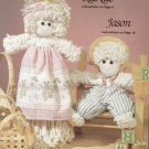 MOP MAGIC 17 PATTERNS FOR DOLLS PLAID 8570 ANGLE CHILDREN BABY CLOWN COW INDIAN