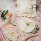 MCCALL 2058 BRIDAL RING PILLOW GLOVES BOUQUET LACE GAUNTLET+ ACCESS. PATTERN