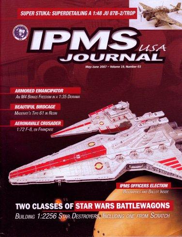 STARWARS DESTROYERS JEDI JUGGERNAUT IPMS JOURNAL USA MAY-JUNE 2007 Vol 19 03