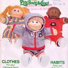 CABBAGE PATCH KIDS DOLL PATTERN + TRANSFERS BUTTERICK 332 PATTERN OOP UNCUT