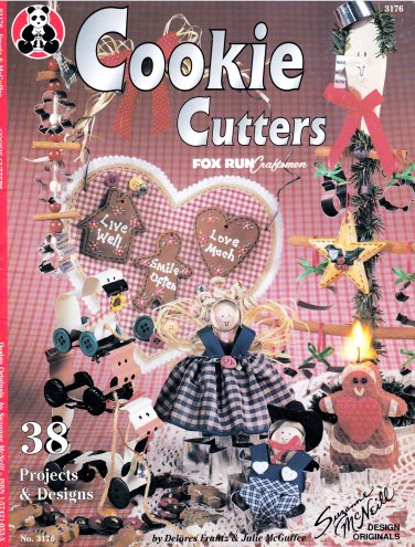 COOKIE CUTTER 38 PROJECTS & DESIGNS CHRISTMAS GIFTS DOLL FRANZ & MCGUFFEE 03176