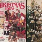 1987 CHRISTMAS IDEAS BH & G DOLLS SANTAS CROSS STITCH CREWEL SEW KNIT EMBROIDER+