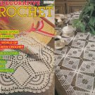 DECORATIVE CROCHET 1988 BEDSPREADS, CURTAINS, MATS, TABLECLOTHS, RUNNERS + #6