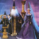 KELLY BARBIE KEN OOP WIZARD CAMELOT GANDALF COSTUME DOLL PATTERN  MCCALL 3477